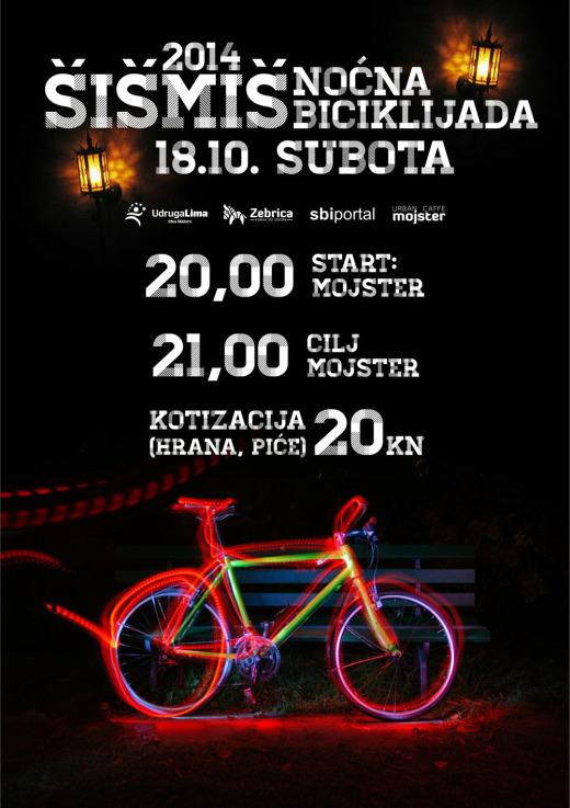Šišmiš 2014 - noćna biciklijada