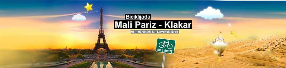 Biciklijada Mali Pariz - Klakar