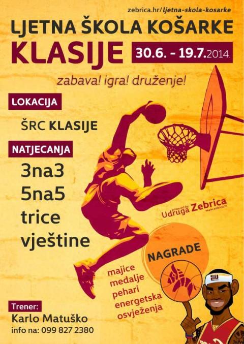 Ljetna škola košarke KLASIJE